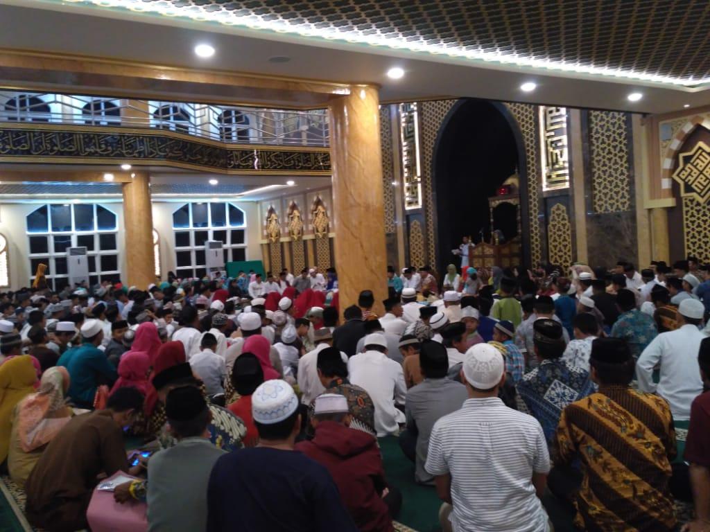 Suasana pembukaan Seleksi Tilawatil Quran dan Hadits ke 25 Tahun 2019 Tingkat Kab. Jeneponto (Senin, 18/3/2019) di Masjid Agung Jeneponto