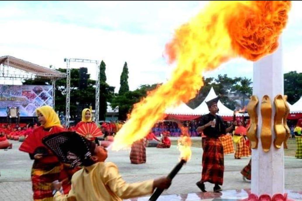 Momentum Puncak Perayaan Hari Jadi Jeneponto ke 156, 1 Mei 2019 di Lapangan Passamaturukang